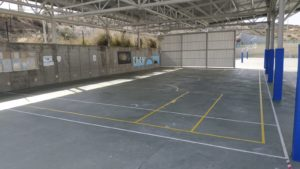 Nueva pista de minibasket